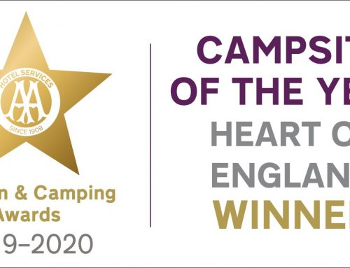 AA CAMPSITE OF THE YEAR (HEART OF ENGLAND)