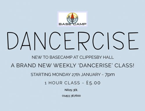 'DANCERCISE' ~ Monday Evenings @BASECAMP
